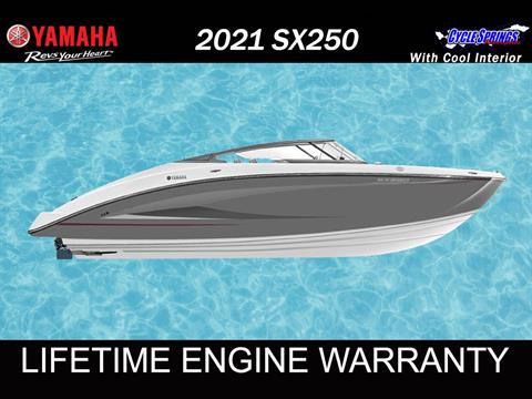 2021 Yamaha SX250 in Clearwater, Florida - Photo 1