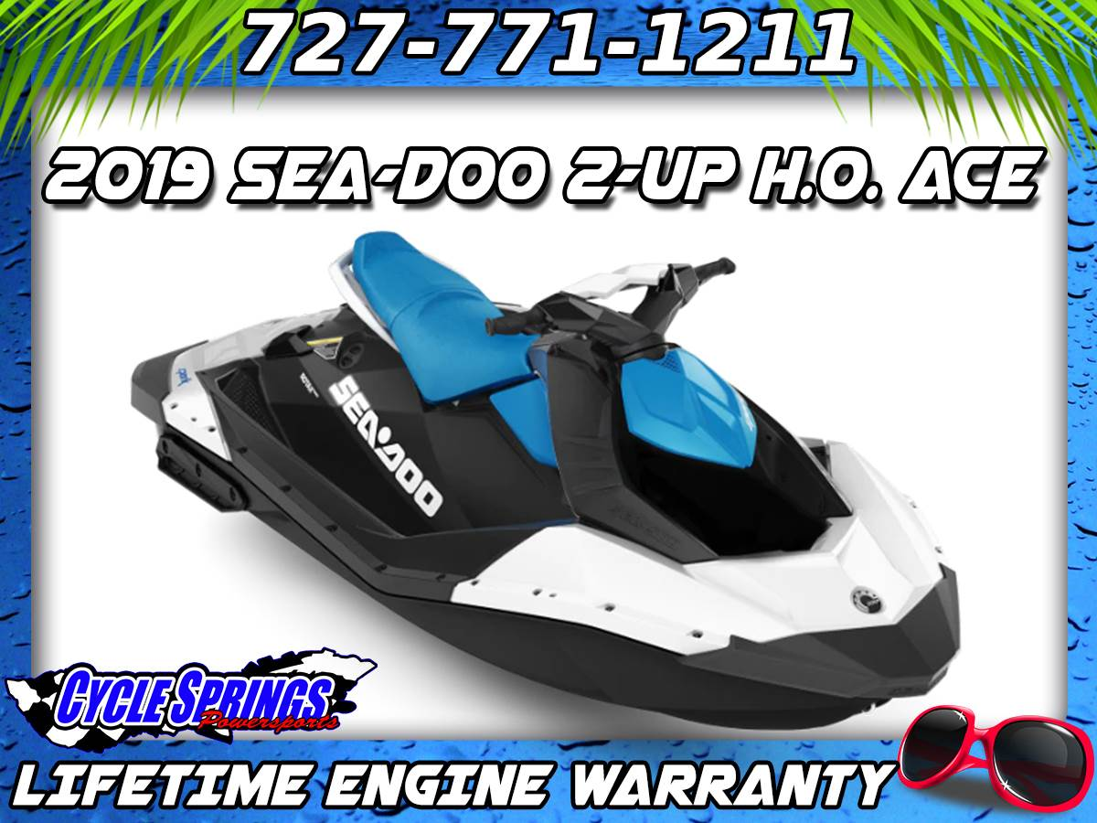 2019 Sea-Doo Spark 2up 900 H.O. ACE in Clearwater, Florida - Photo 1