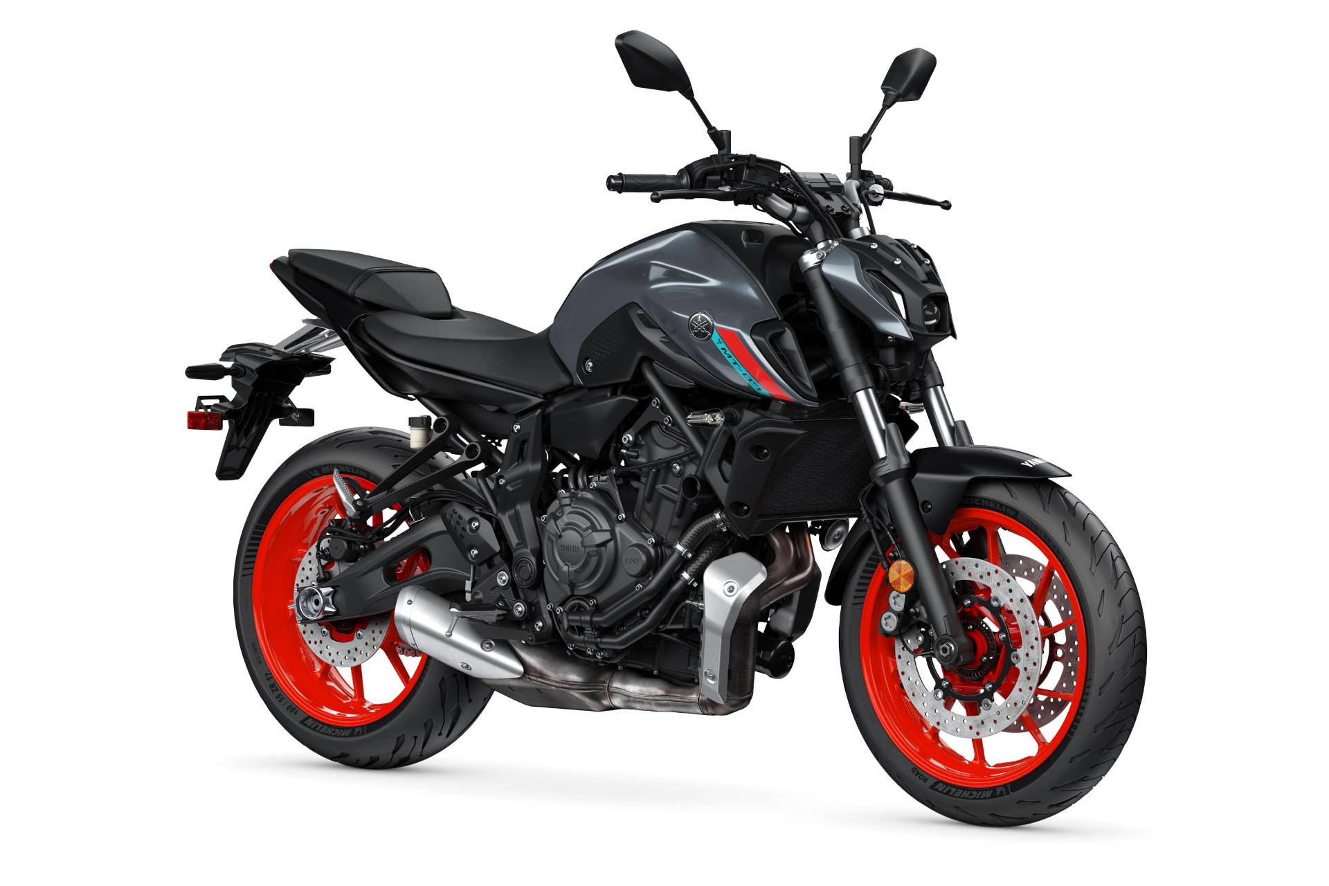 2021 Yamaha MT-07 in Clearwater, Florida - Photo 4
