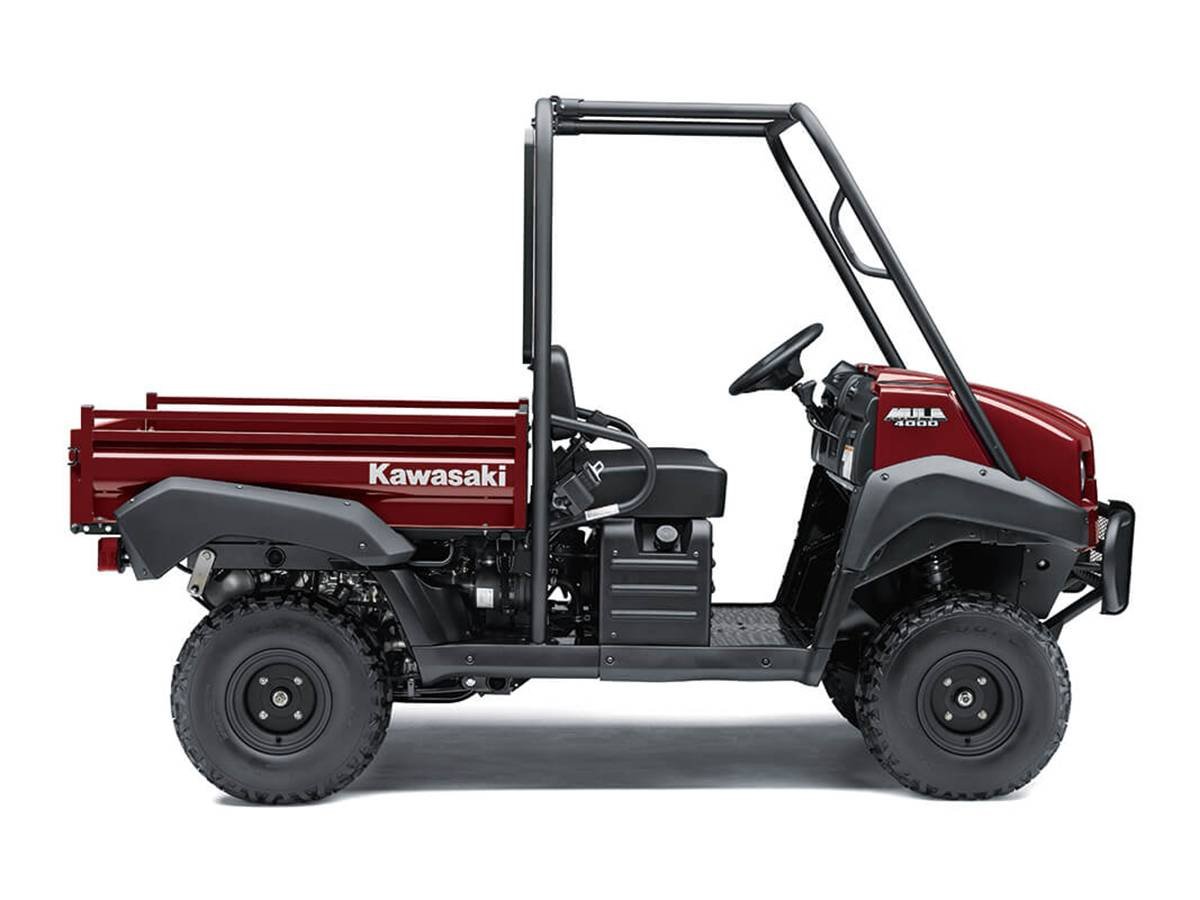 2021 Kawasaki Mule 4000 in Clearwater, Florida - Photo 1