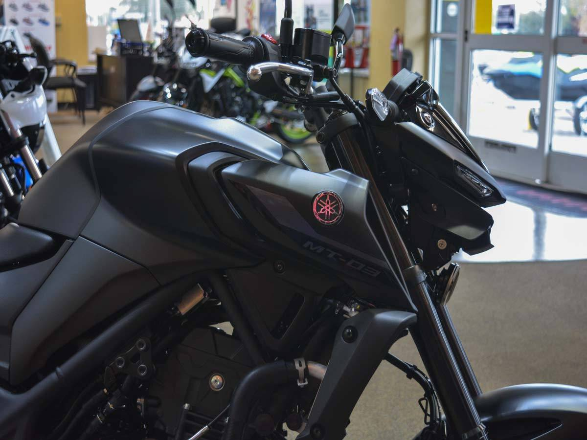 2021 Yamaha MT-03 in Clearwater, Florida - Photo 4