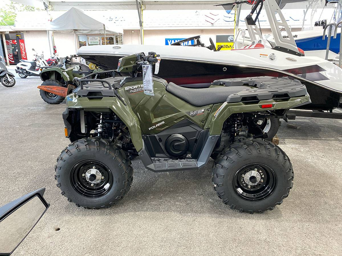2021 Polaris Sportsman 450 H.O. in Clearwater, Florida - Photo 6