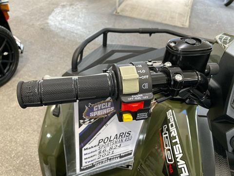 2021 Polaris Sportsman 450 H.O. in Clearwater, Florida - Photo 10