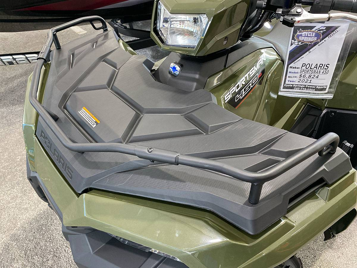 2021 Polaris Sportsman 450 H.O. in Clearwater, Florida - Photo 16