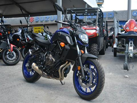 2018 Yamaha MT-07 in Clearwater, Florida