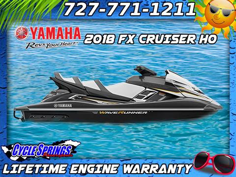 2018 Yamaha FX Cruiser HO in Clearwater, Florida - Photo 1