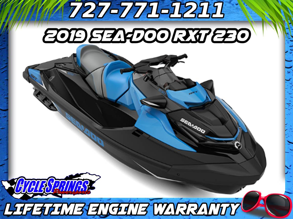 2019 Sea-Doo RXT 230 iBR in Clearwater, Florida - Photo 1