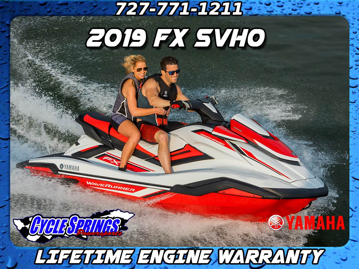 2019 Yamaha FX SVHO for sale 132