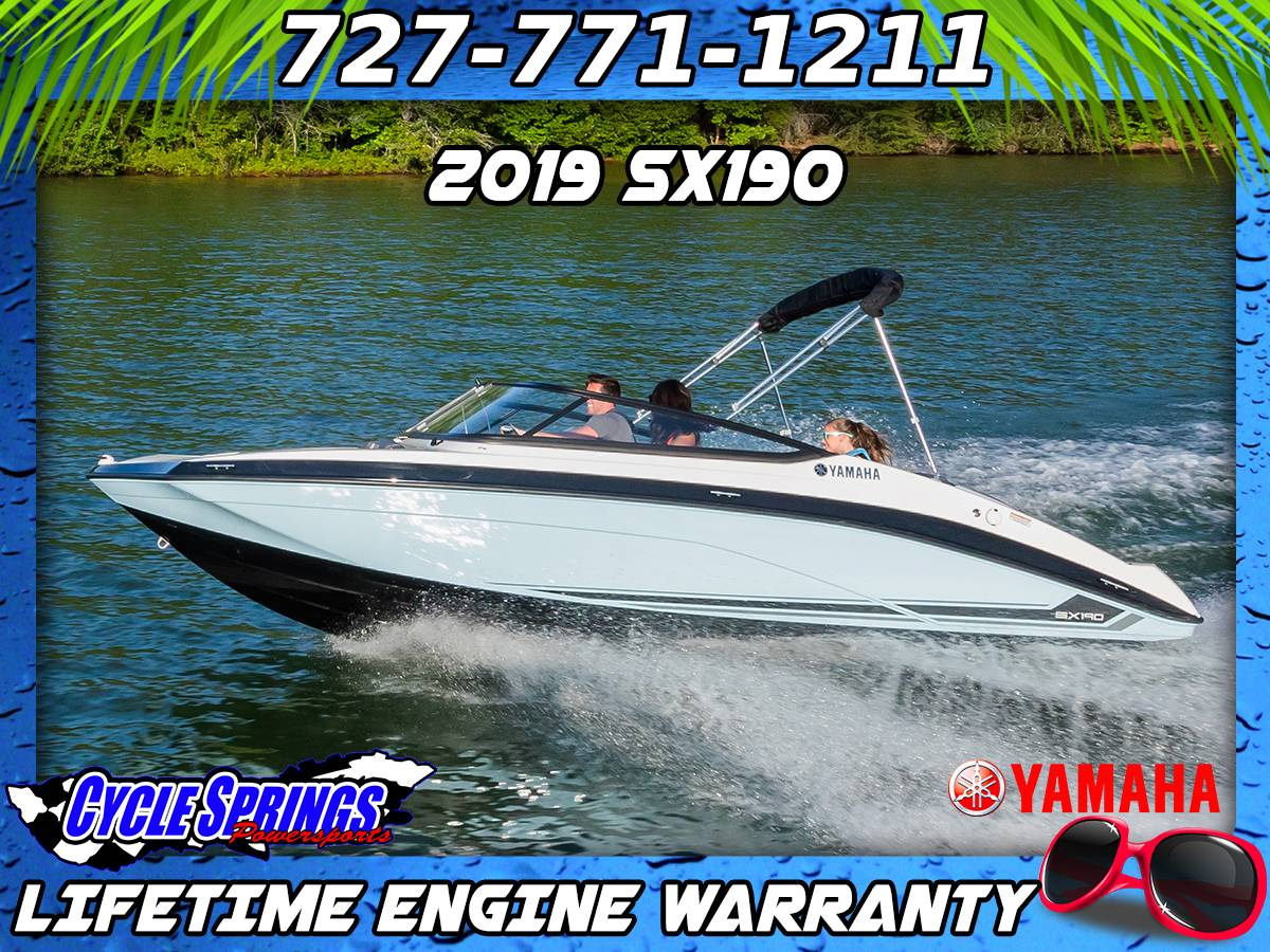 2019 Yamaha SX190 in Clearwater, Florida