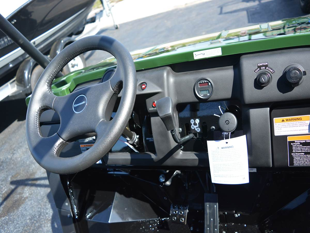 2019 Kawasaki Mule 4010 4x4 in Clearwater, Florida - Photo 9