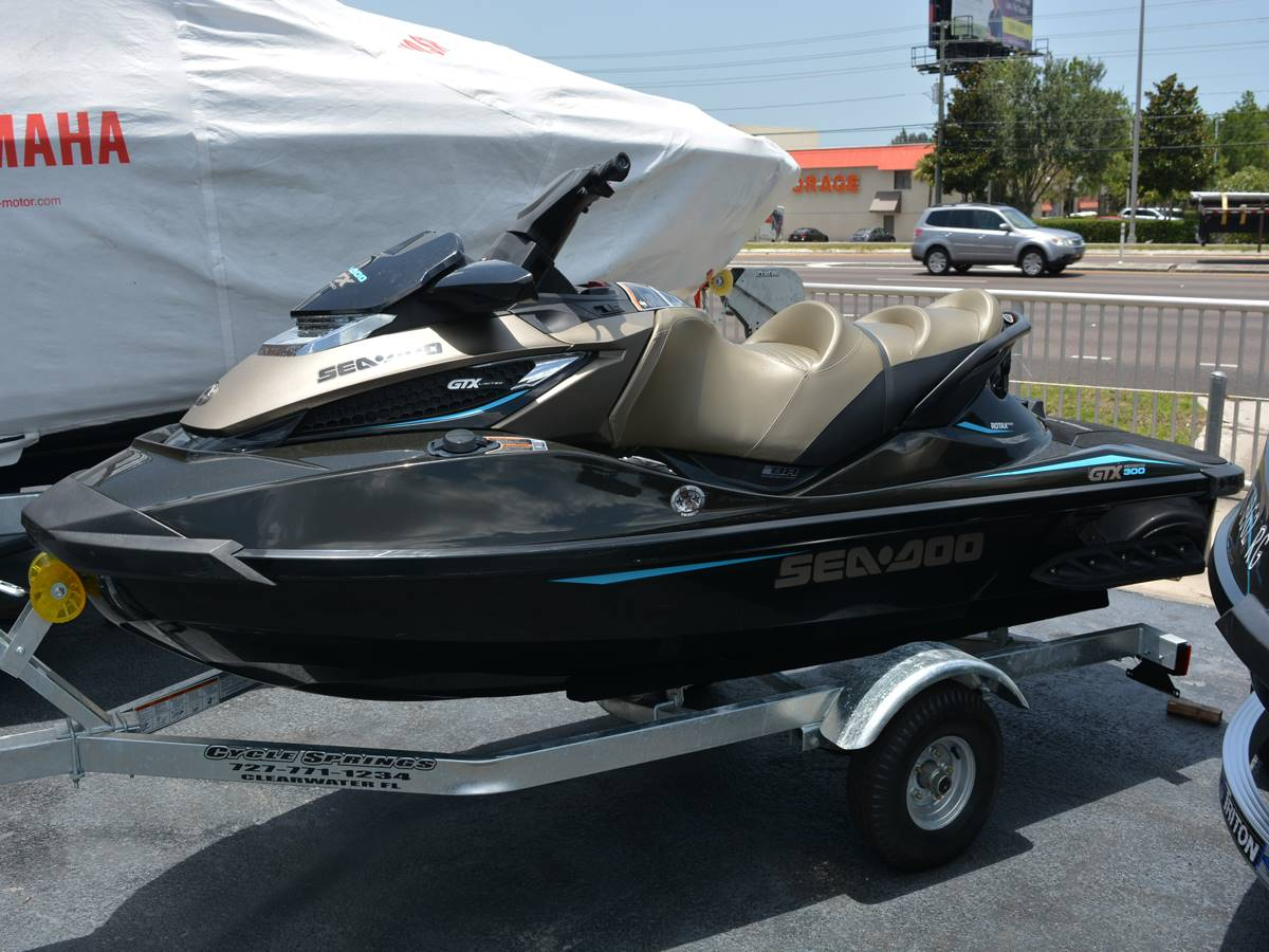 2016 Sea-Doo GTX Limited 300 in Clearwater, Florida - Photo 1