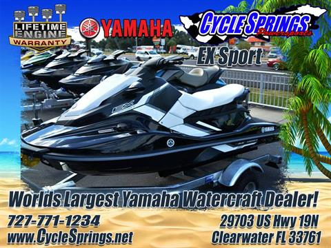 2017 Yamaha EX Sport in Clearwater, Florida
