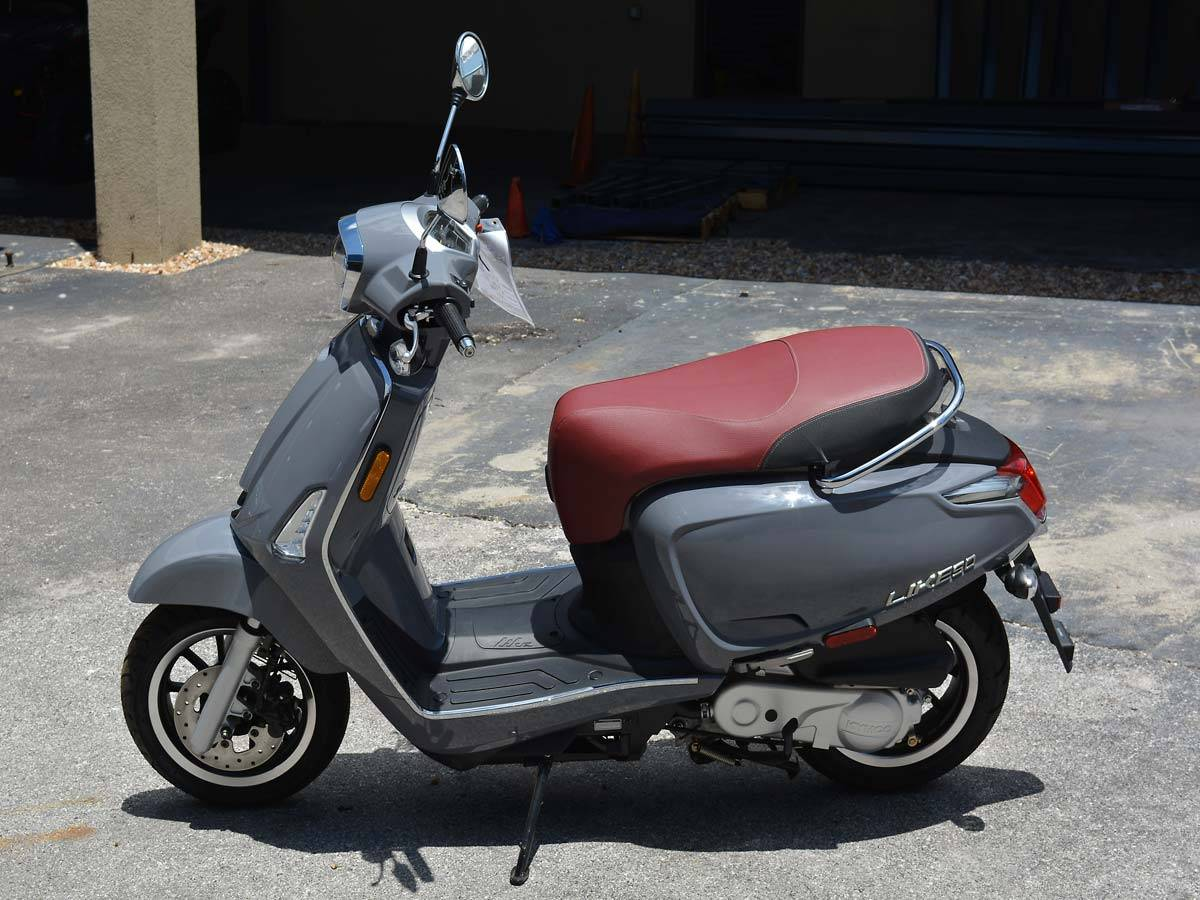 2019 Kymco Like 50i in Clearwater, Florida - Photo 2