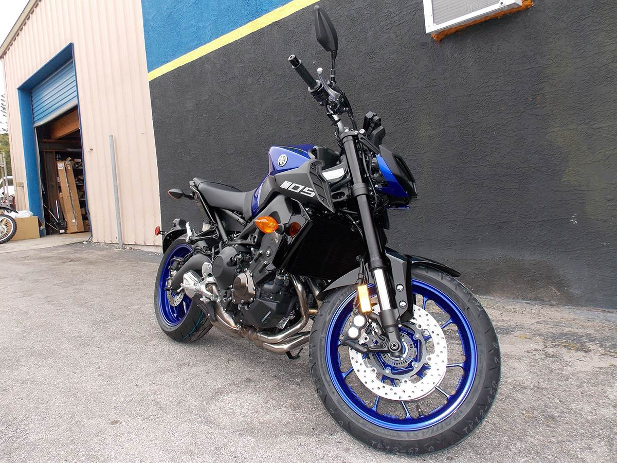 2019 Yamaha MT-09 in Clearwater, Florida - Photo 4