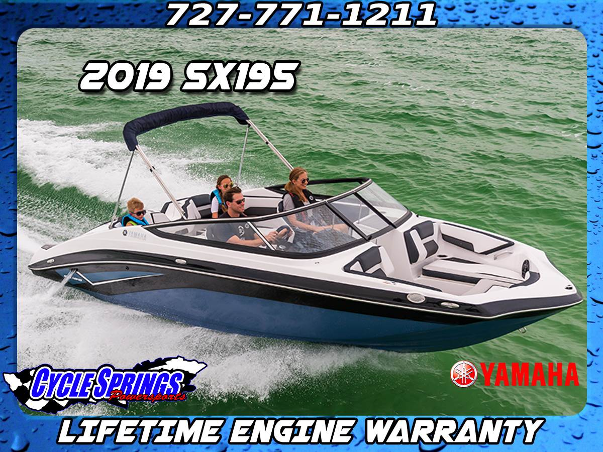2019 Yamaha SX195 in Clearwater, Florida - Photo 1