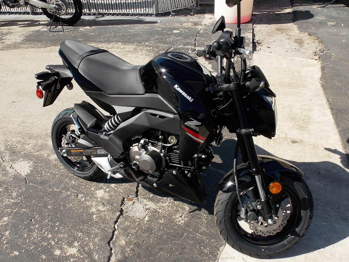 2019 Kawasaki Z125 Pro in Clearwater, Florida