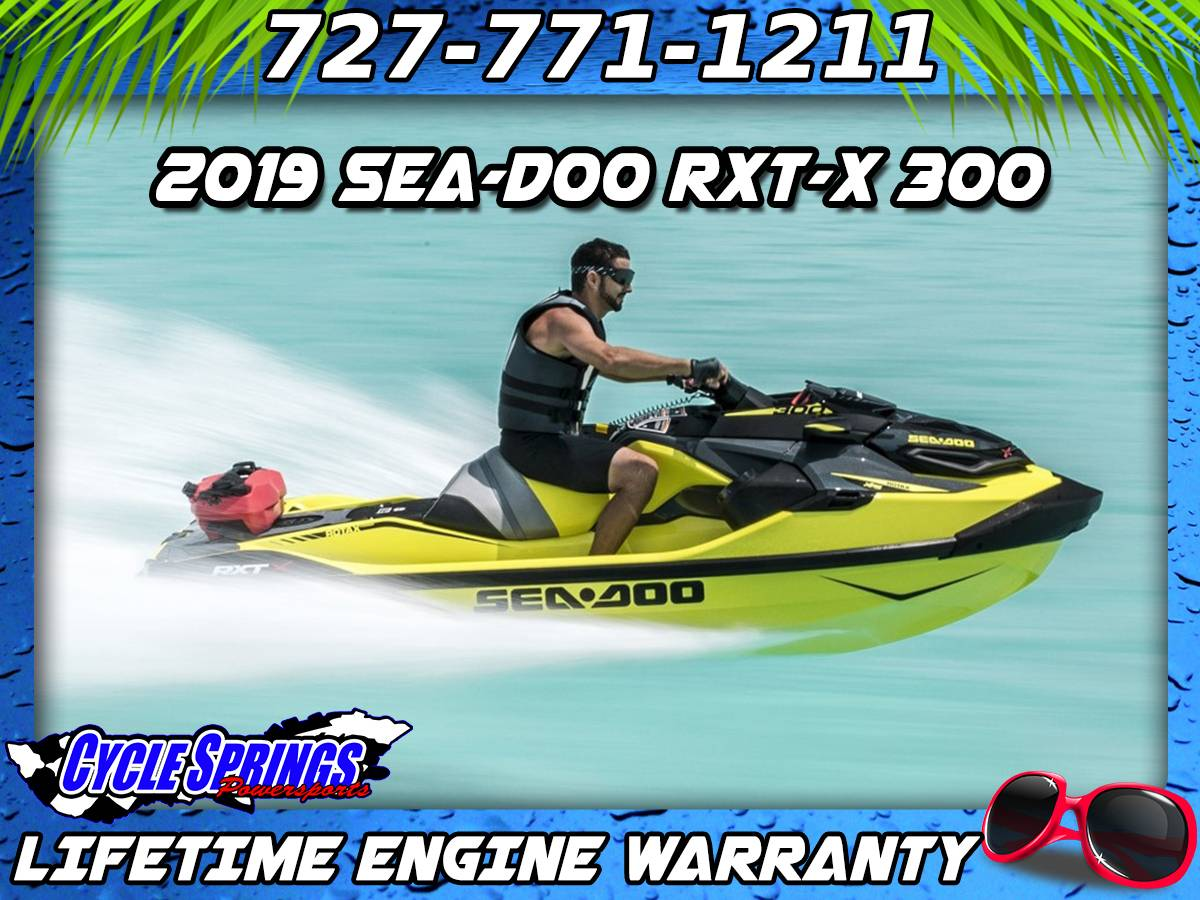 2019 Sea-Doo RXT-X 300 iBR + Sound System in Clearwater, Florida