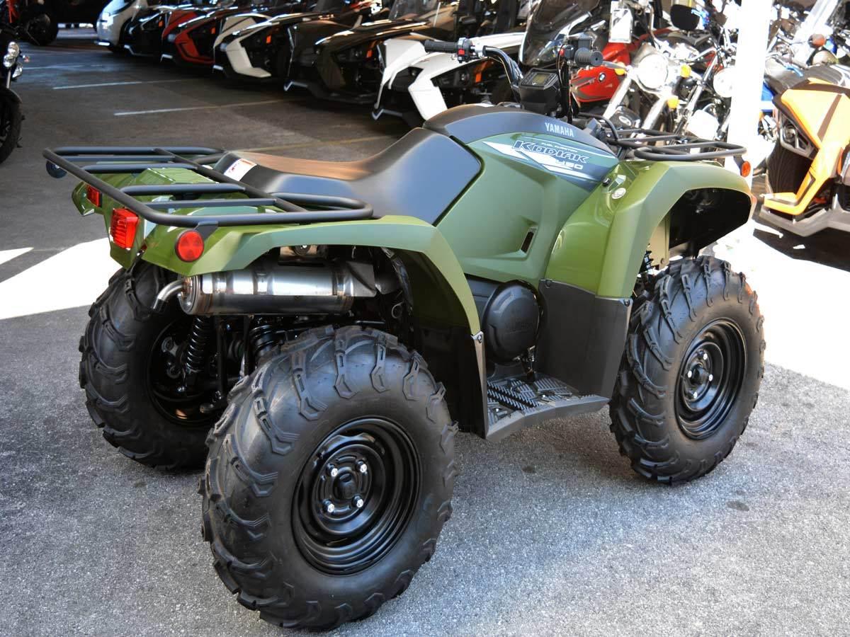 2020 Yamaha Kodiak 450 6