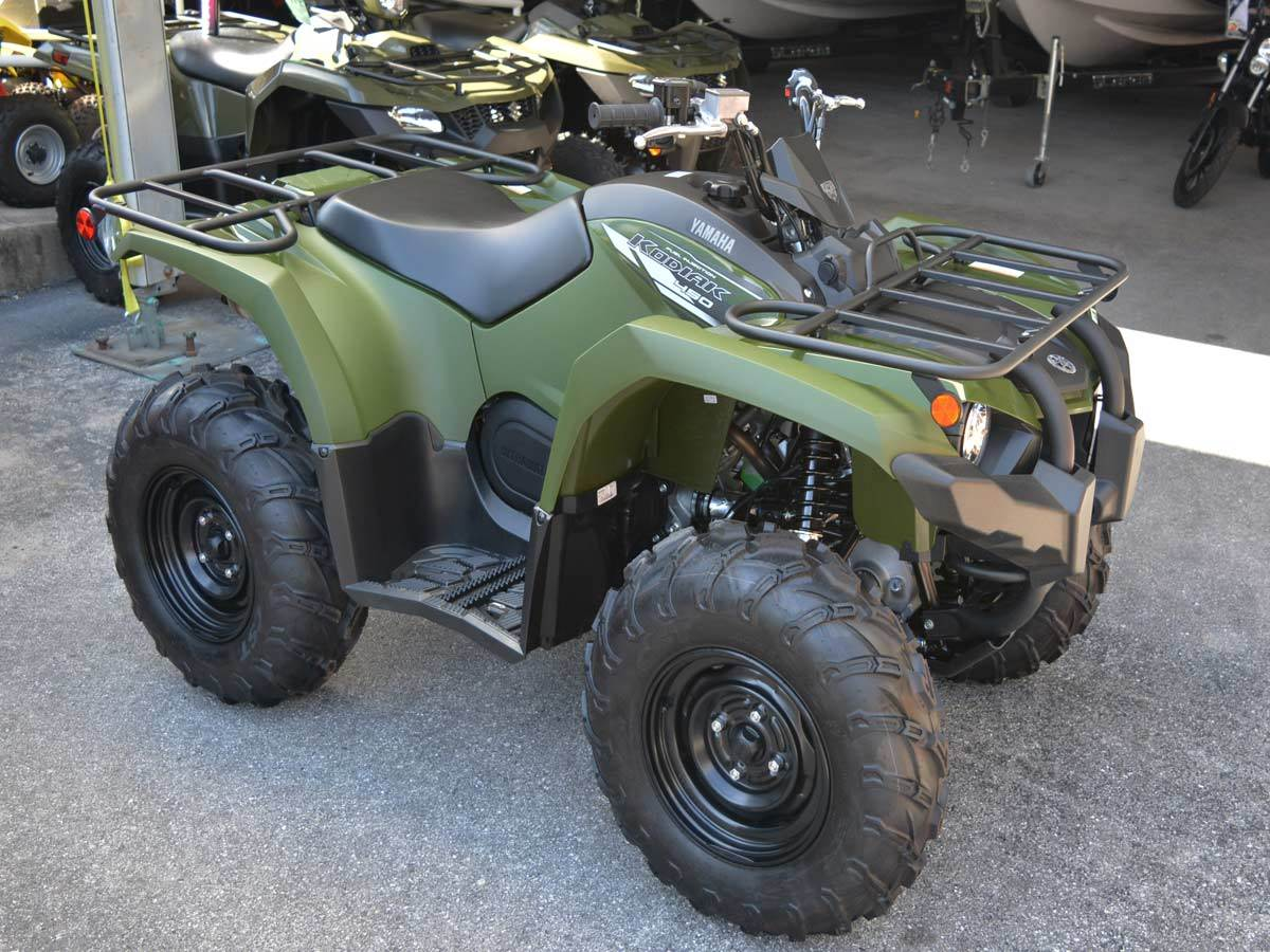 2020 Yamaha Kodiak 450 7