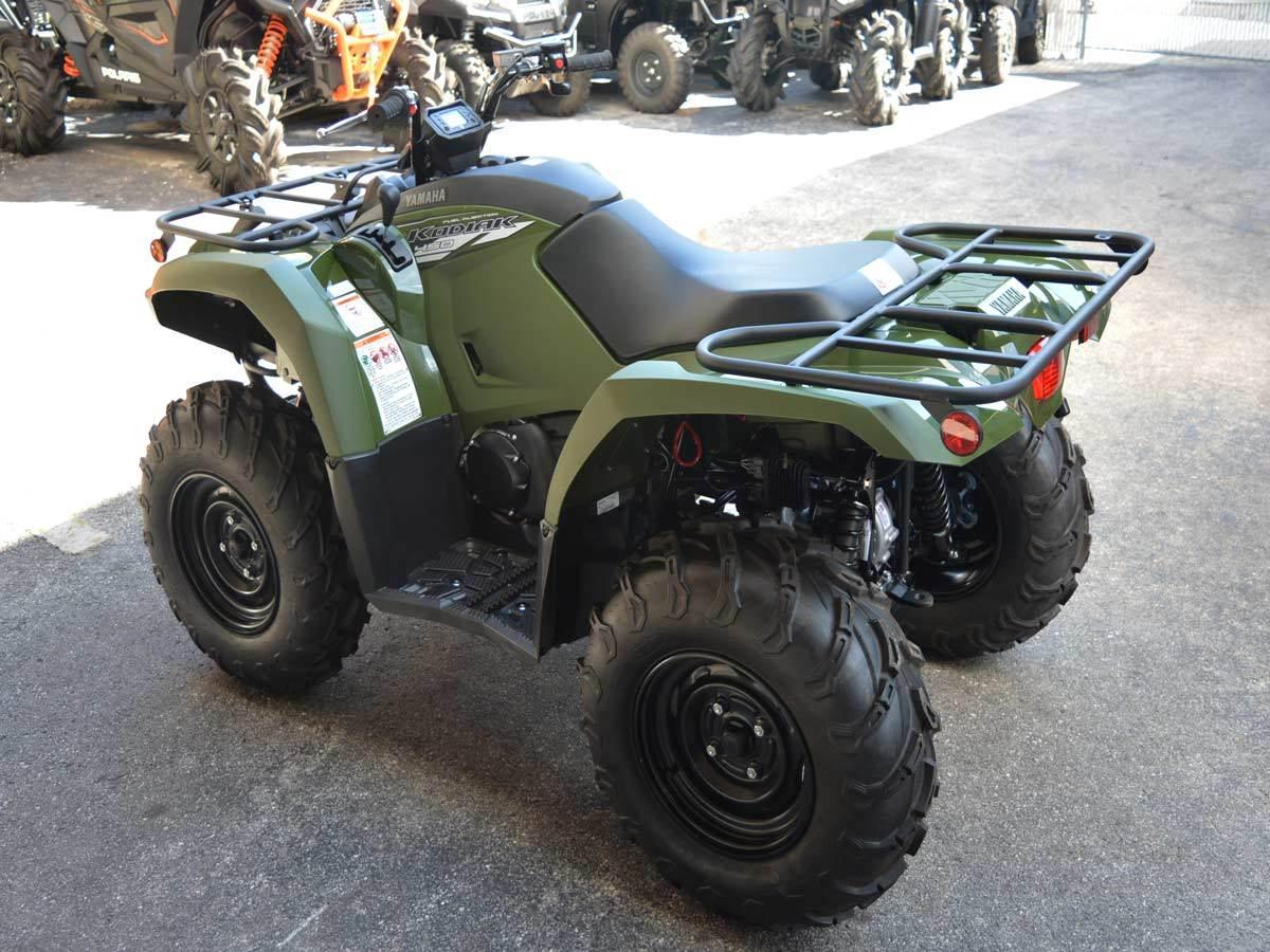 2020 Yamaha Kodiak 450 8