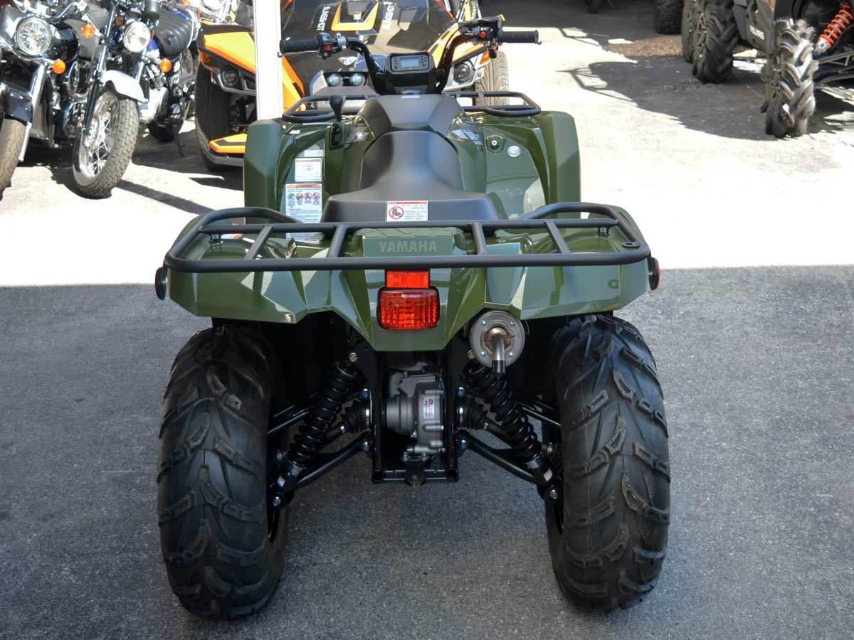 2020 Yamaha Kodiak 450 9