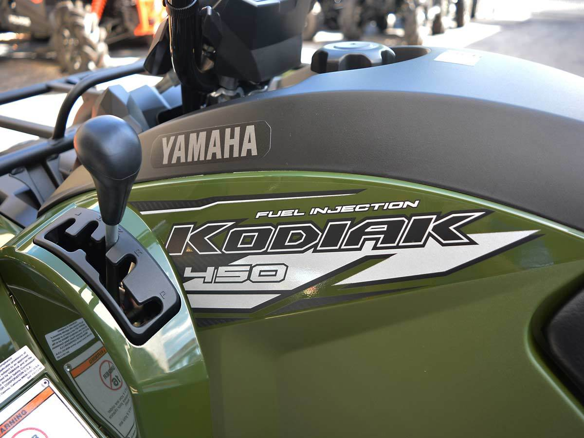 2020 Yamaha Kodiak 450 11