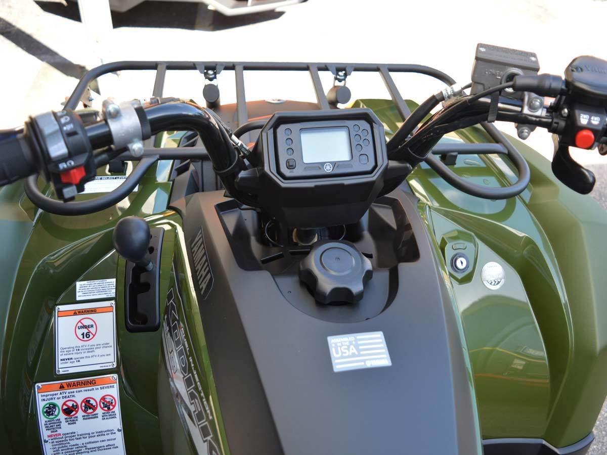 2020 Yamaha Kodiak 450 12