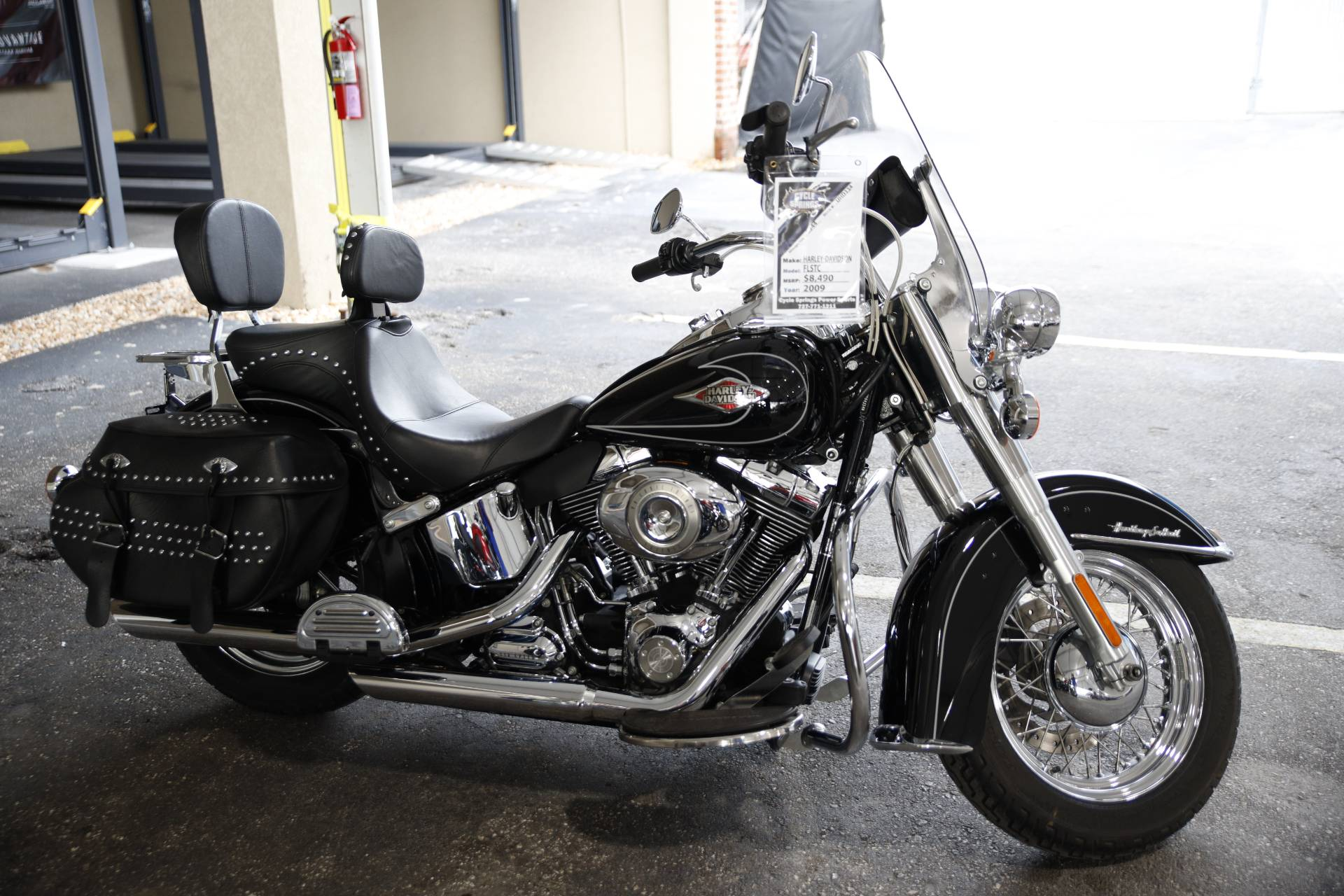 2009 Harley-Davidson FLSTC Heritage Softail® Classic in Clearwater, Florida - Photo 1