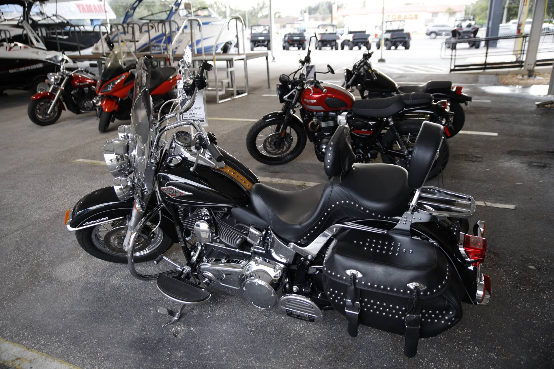 2009 Harley-Davidson FLSTC Heritage Softail® Classic in Clearwater, Florida - Photo 6