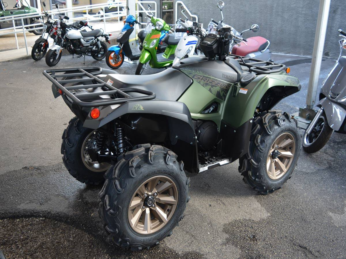 2021 Yamaha Grizzly EPS XT-R in Clearwater, Florida - Photo 11