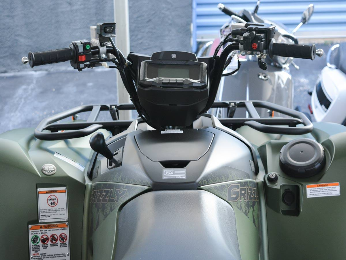 2021 Yamaha Grizzly EPS XT-R in Clearwater, Florida - Photo 14