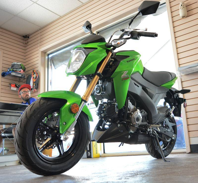 2017 Kawasaki Z125 Pro in Clearwater, Florida