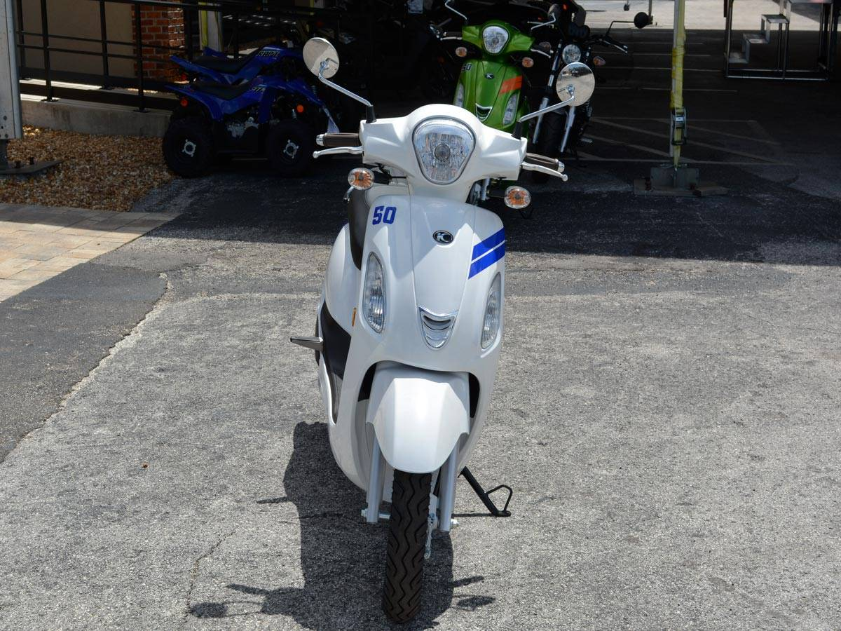 2020 Kymco Like M50 in Clearwater, Florida - Photo 13