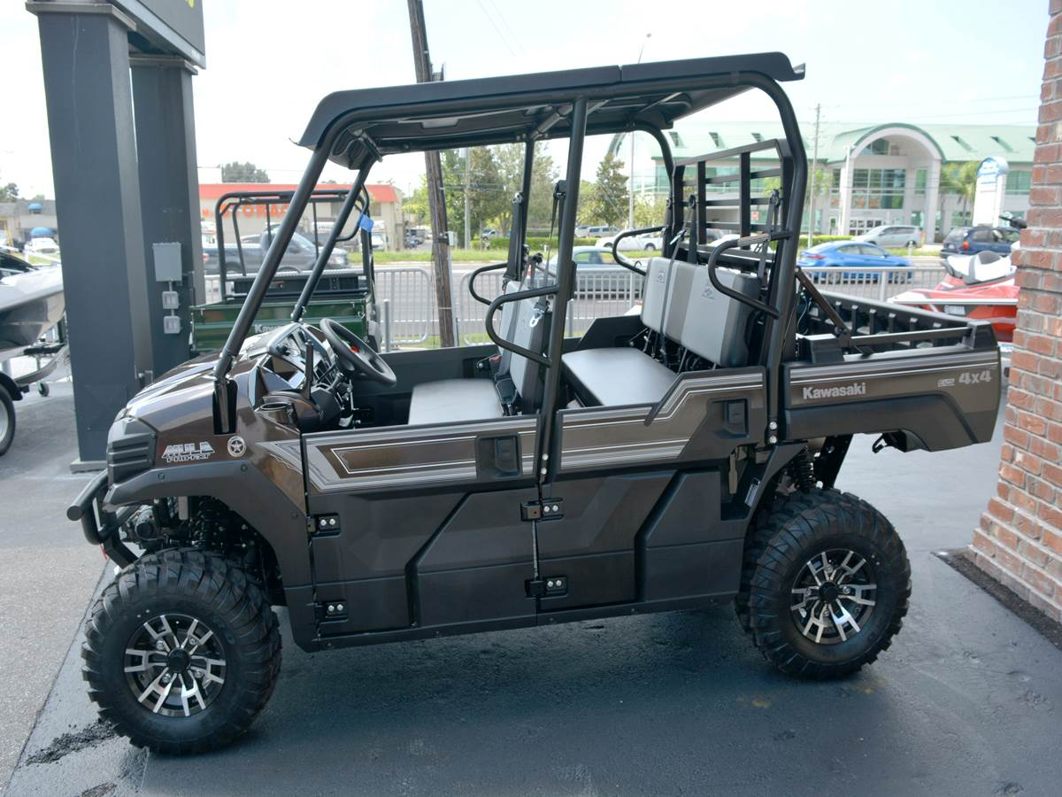 2019 Kawasaki Mule PRO-FXT Ranch Edition in Clearwater, Florida