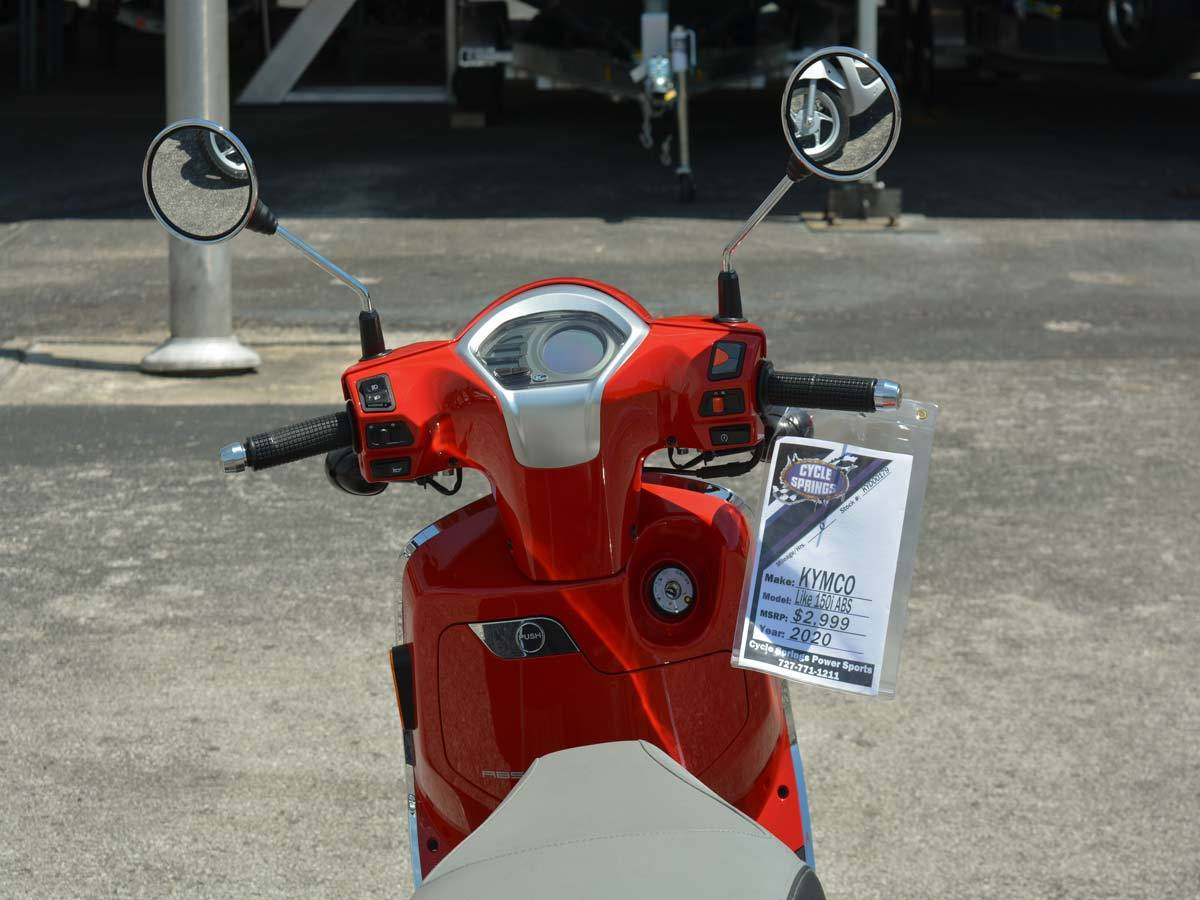 2020 Kymco Like 150i ABS Noodoe in Clearwater, Florida - Photo 11