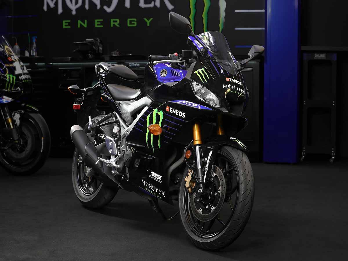 2021 Yamaha YZF-R3 ABS Monster Energy Yamaha MotoGP Edition in Clearwater, Florida - Photo 5