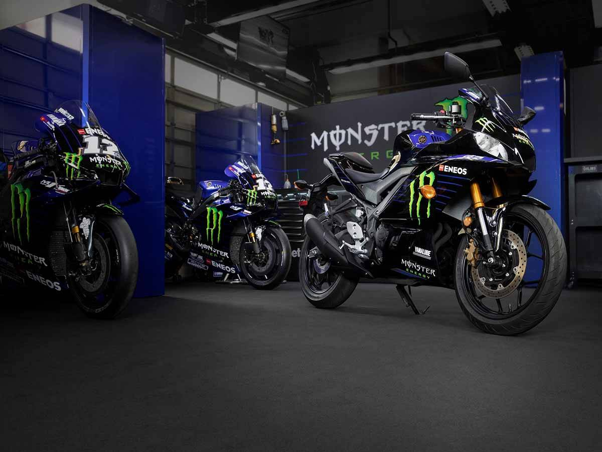 2021 Yamaha YZF-R3 ABS Monster Energy Yamaha MotoGP Edition in Clearwater, Florida - Photo 8