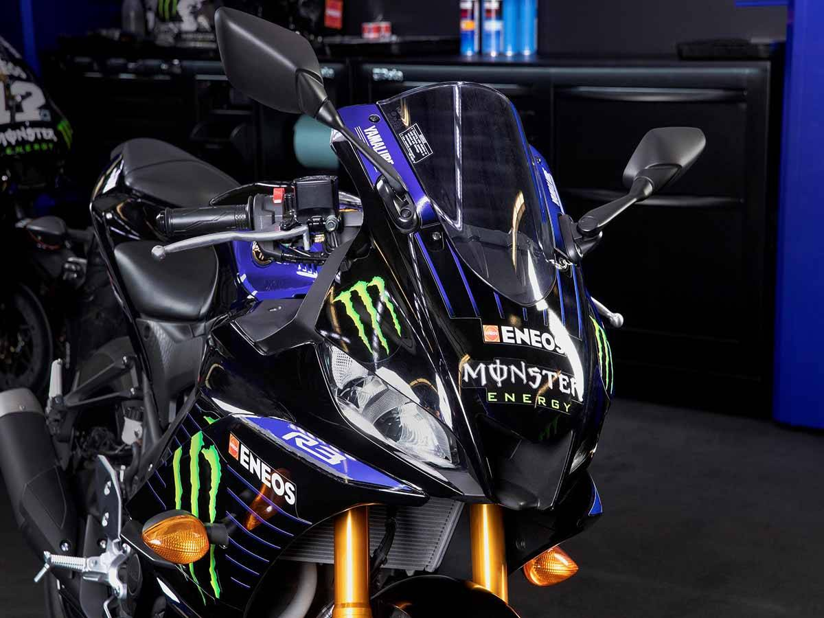 2021 Yamaha YZF-R3 ABS Monster Energy Yamaha MotoGP Edition in Clearwater, Florida - Photo 9