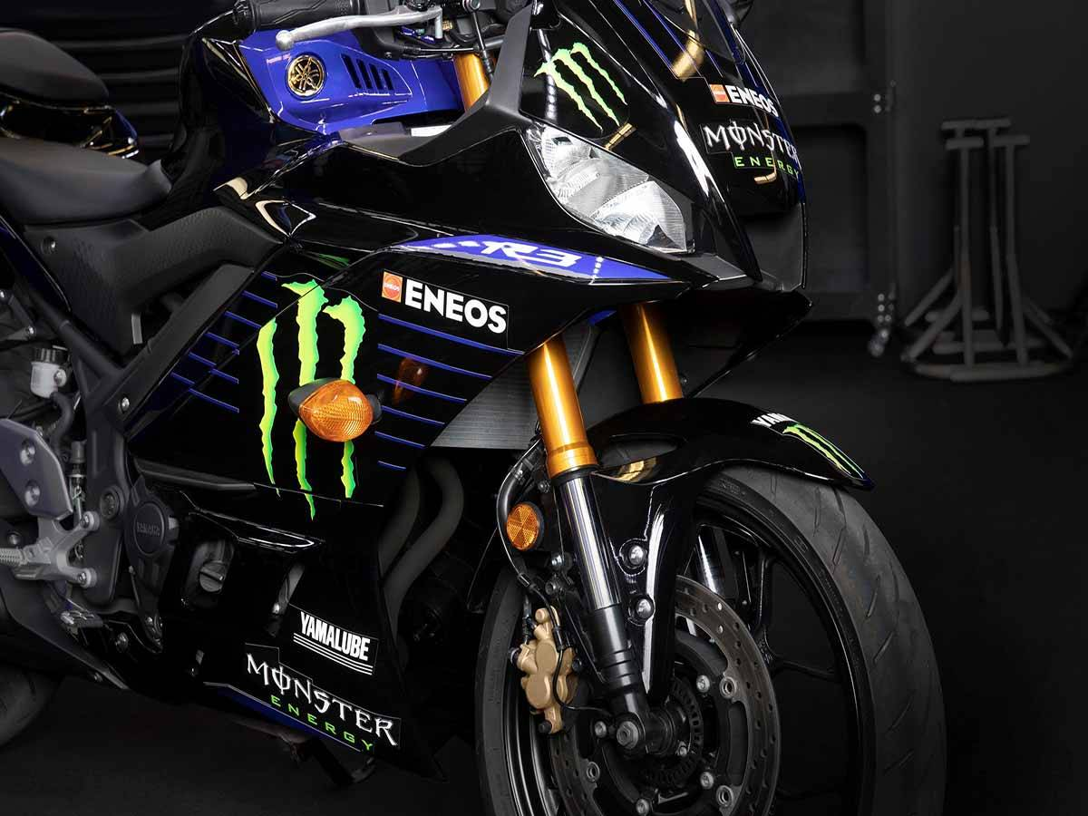 2021 Yamaha YZF-R3 ABS Monster Energy Yamaha MotoGP Edition in Clearwater, Florida - Photo 11