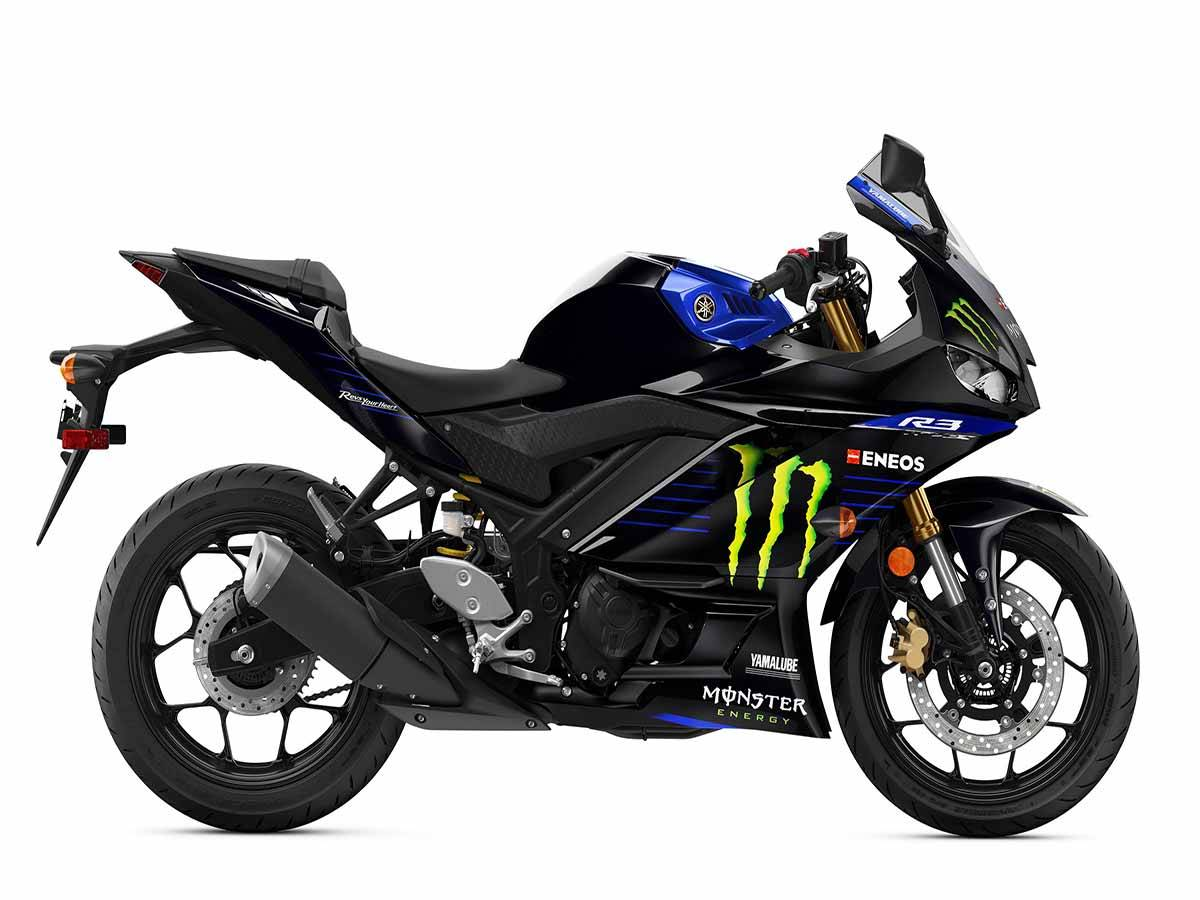 2021 Yamaha YZF-R3 ABS Monster Energy Yamaha MotoGP Edition in Clearwater, Florida - Photo 1