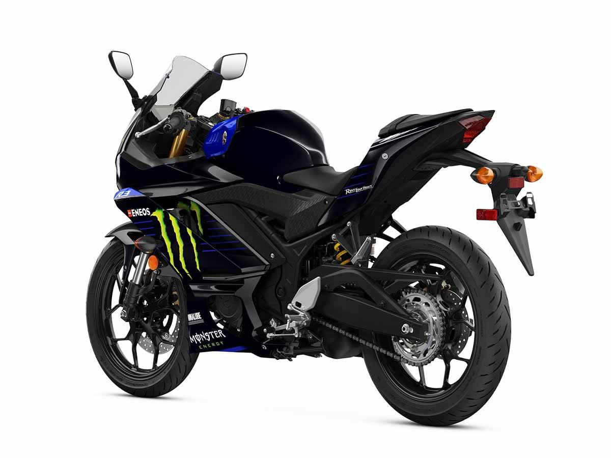 2021 Yamaha YZF-R3 ABS Monster Energy Yamaha MotoGP Edition in Clearwater, Florida - Photo 4