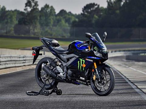 2021 Yamaha YZF-R3 ABS Monster Energy Yamaha MotoGP Edition in Clearwater, Florida - Photo 15