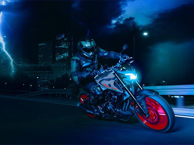 2021 Yamaha MT-03 in Clearwater, Florida - Photo 12