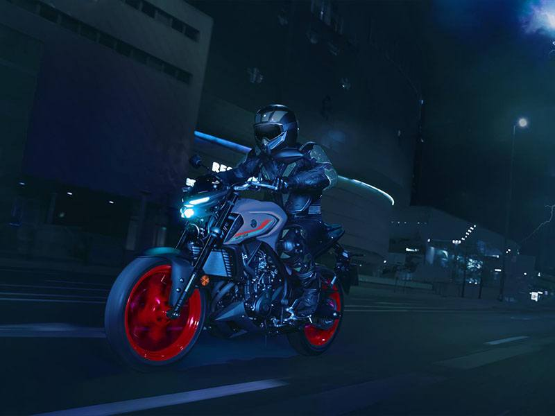 2021 Yamaha MT-03 in Clearwater, Florida - Photo 13