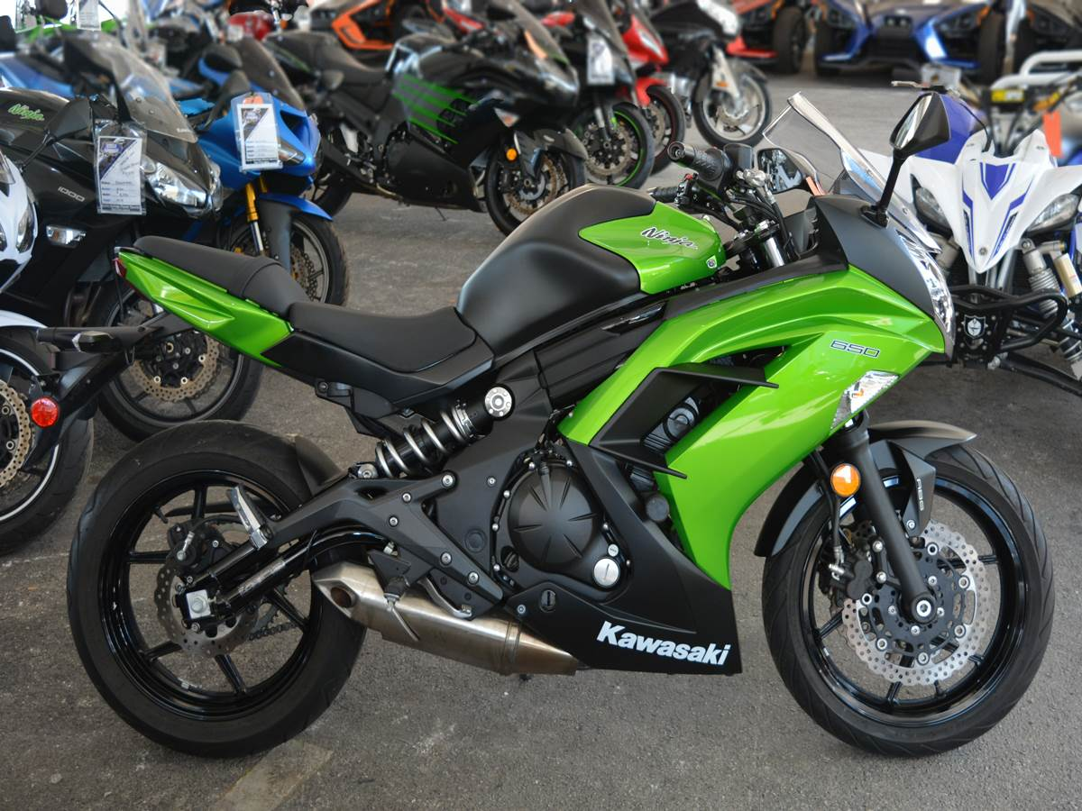 Used 2014 Kawasaki Ninja® 650 ABS Motorcycles in Clearwater, FL ...