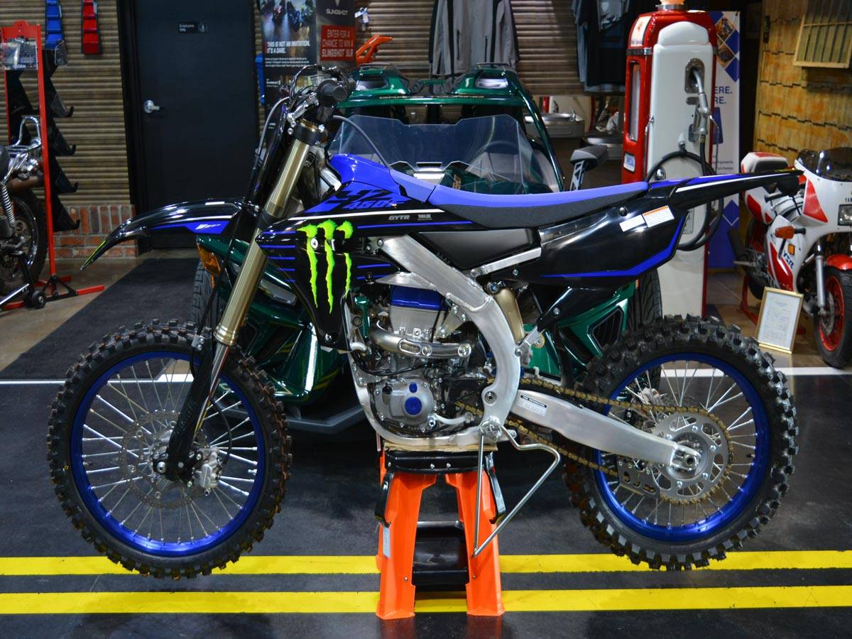 2021 Yamaha YZ450F Monster Energy Yamaha Racing Edition in Clearwater, Florida - Photo 1