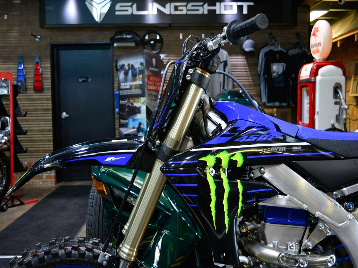 2021 Yamaha YZ450F Monster Energy Yamaha Racing Edition in Clearwater, Florida - Photo 3