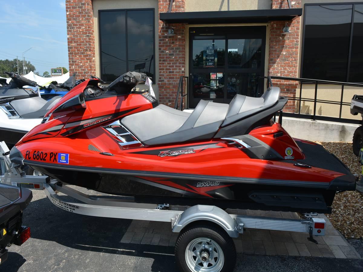 2015 Yamaha FX Cruiser SVHO® in Clearwater, Florida
