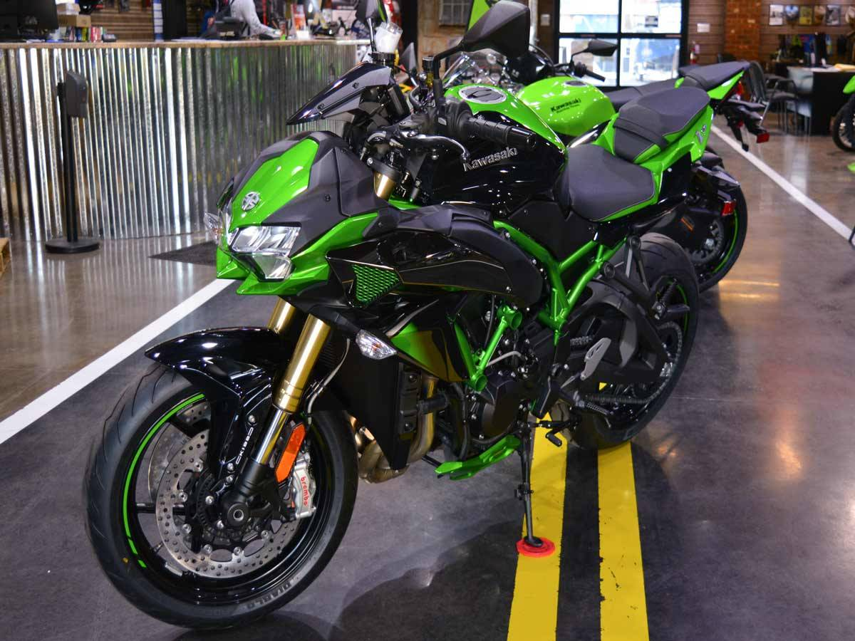 2021 Kawasaki Z H2 SE in Clearwater, Florida - Photo 12
