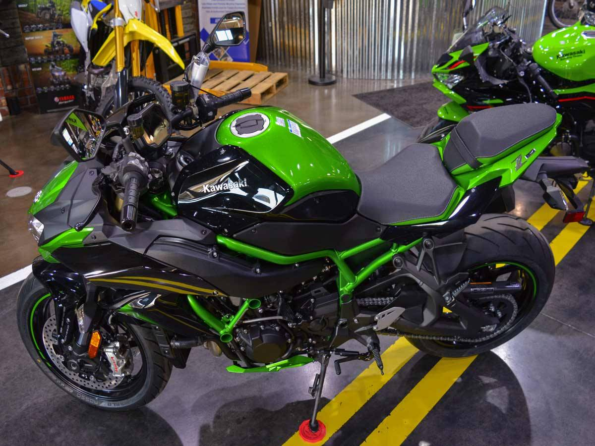 2021 Kawasaki Z H2 SE in Clearwater, Florida - Photo 13